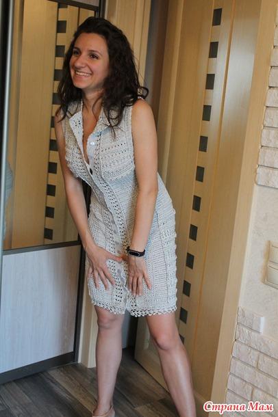799b136ce5f9 Доброго времени суток, уважаемые мастерицы! Хочу поделиться с вами своей  радостью - закончила вязать еще одно платье после длительного творческого  перерыва.