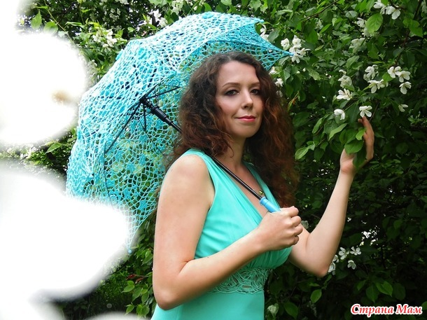 Летние фотосессии с зонтами
