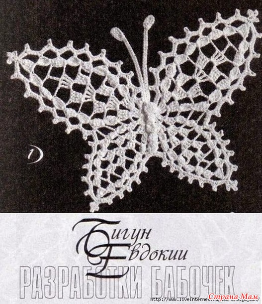 . Ирландские бабочки,  схемы