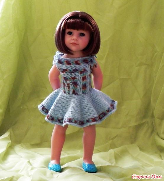 Новая кукла и новое платье
