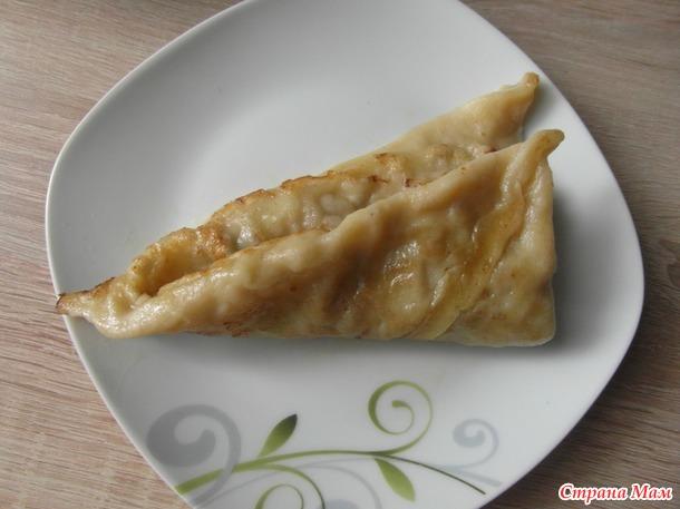 """Пироги """"Колдуны""""."""