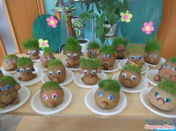 Наши травянчики получились! Детки в восторге!