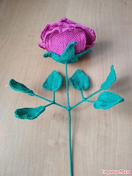 . Объёмная роза
