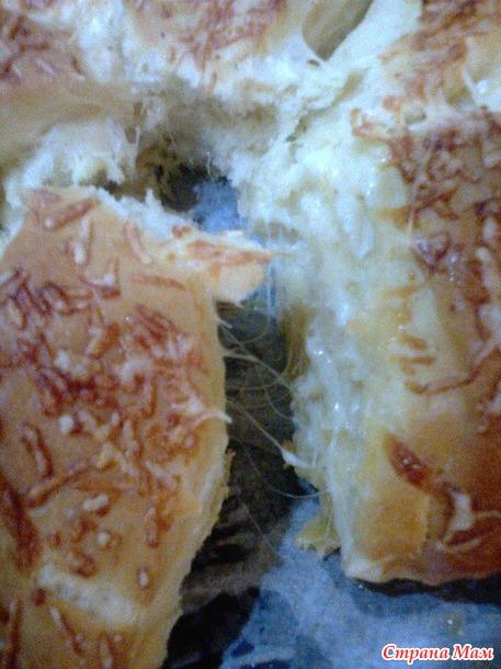 Погача сырная, ароматная, чесночная