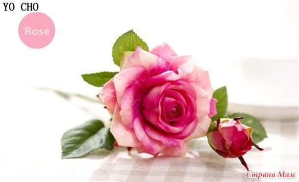 Шелковые розы- постоянная красота+