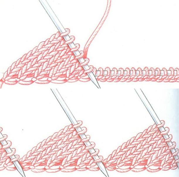 Вязание в технике энтерлак (пэчворк спицами).