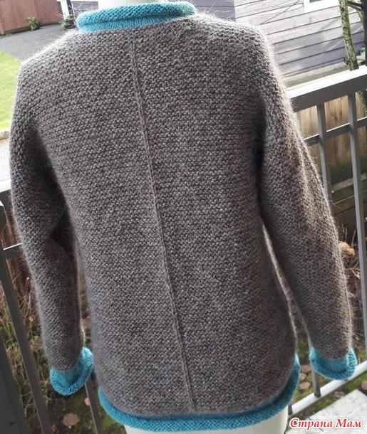 """Пуловер с контрастными планками """"Reeve"""""""