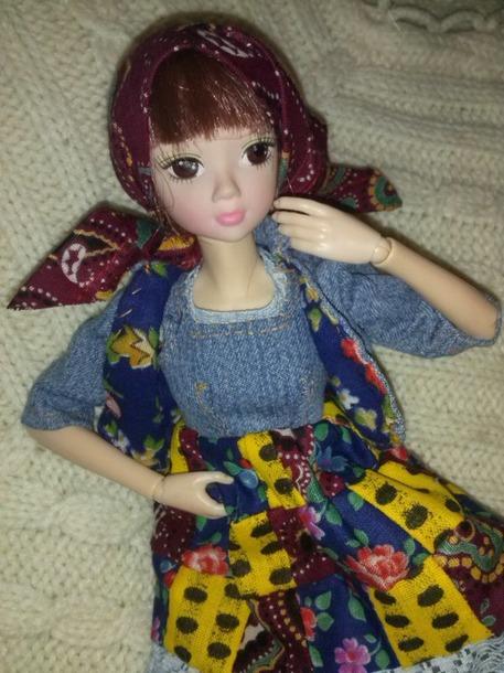 шарнирное туловище для куклы+