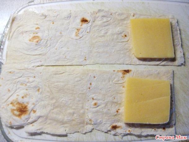 Быстрый и вкусный завтрак: лаваш с сыром в яйце