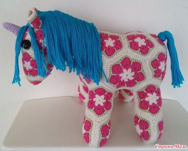 . Африканский цветок, игрушки