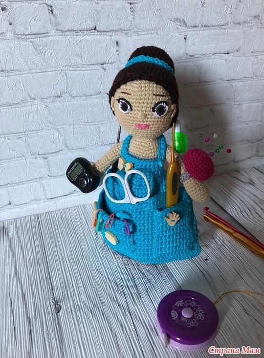кукла помощница для рукодельницы вязание страна мам