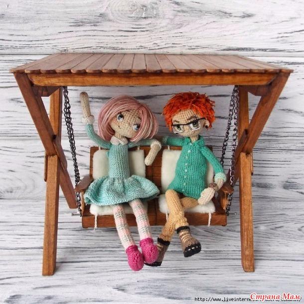 каркасные крючкотворные куклы от мастеров-творцов 1