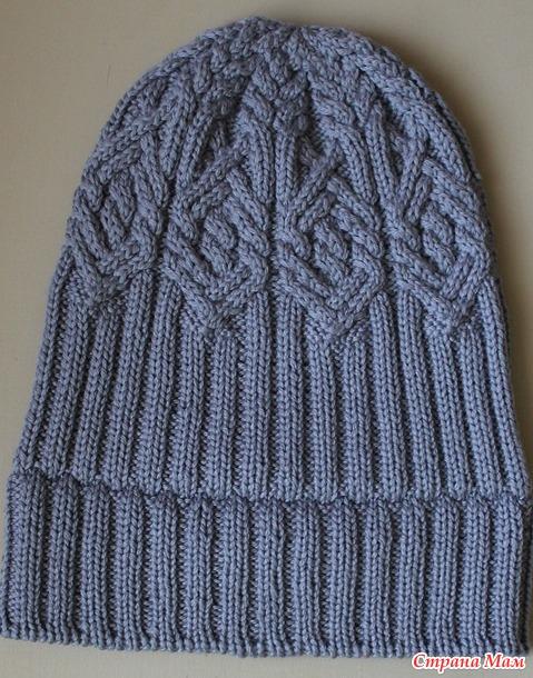 . Комплект из шапочки и снуда с узором от Норы Гоан