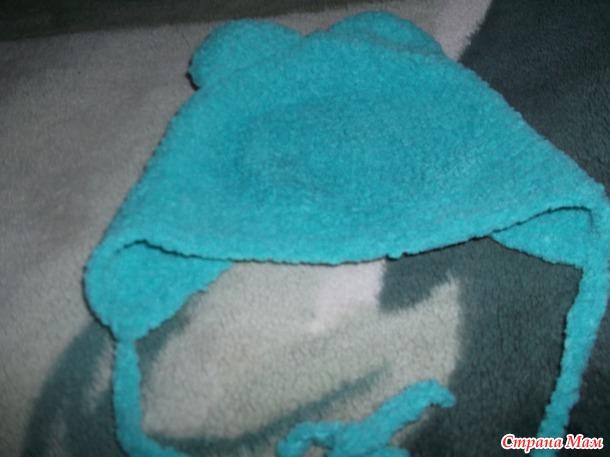 Шапочка с ушками крючком