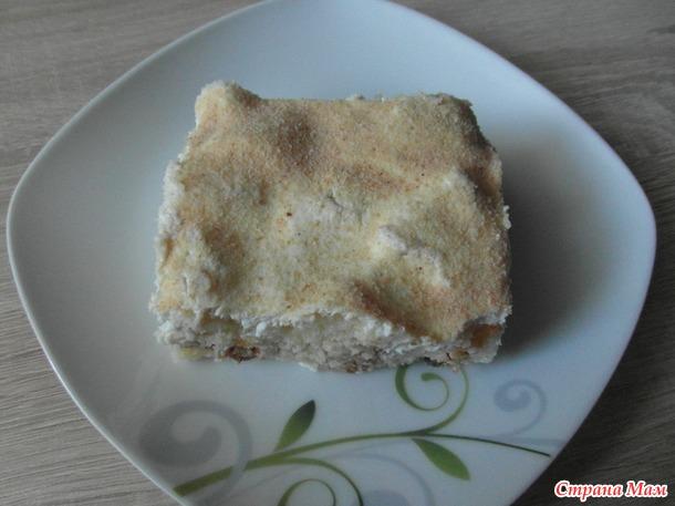 Десерт из творожного теста.