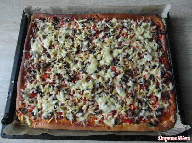 Челлендж. ДЕНЬ 14-й. Пицца с чипсами.