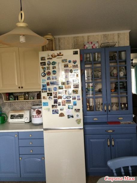 Как я кухню перекрасила.