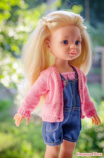 Кардиган для кукол Paola Reina.