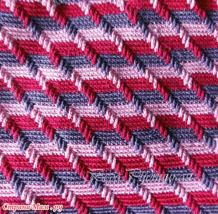 необычайно красивый узор 3d вязание крючком вязание страна мам