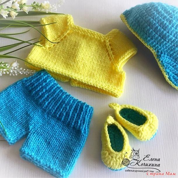 Мои вязалочки для беби бон