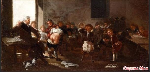 Откуда пришла традиция наказывать детей по «мягкому месту»