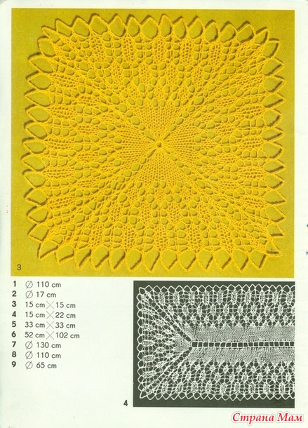Журнал Салфетки и скатерти  Kunststricken Nr. 2049: 9 Decken