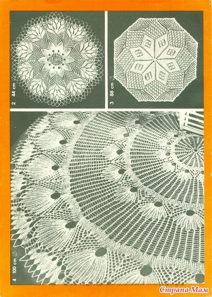Журнал Kunststricken Nr. 2063: 9 Decken