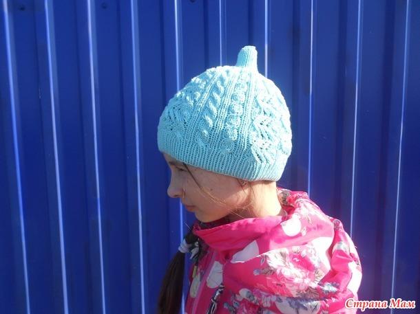 Наша новая шапочка Кексик.