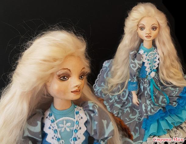 Николь - будуарная кукла-болтушка
