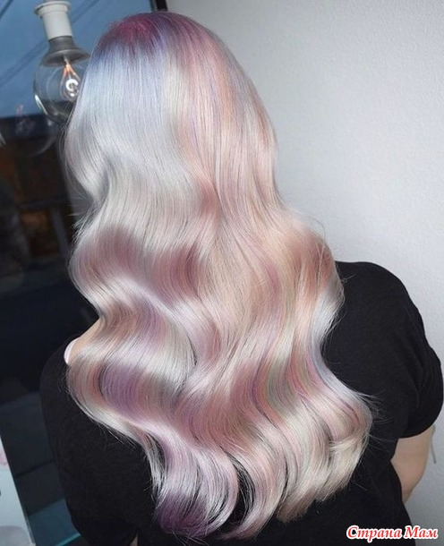 Футуристичный блонд. Тренд 2019