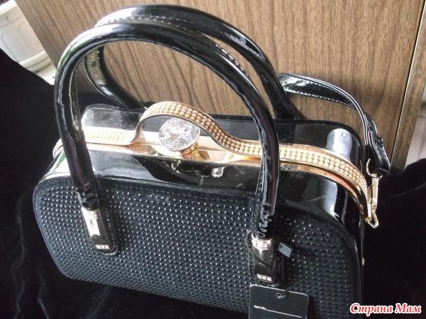 Продам новую красивую сумку с родной этикеткой на пломбе