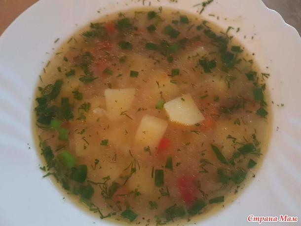 Суп «Затирка»
