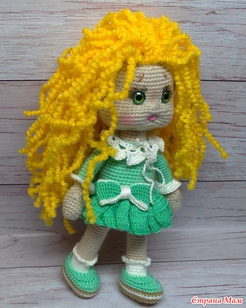 Куколка Зеленоглазка