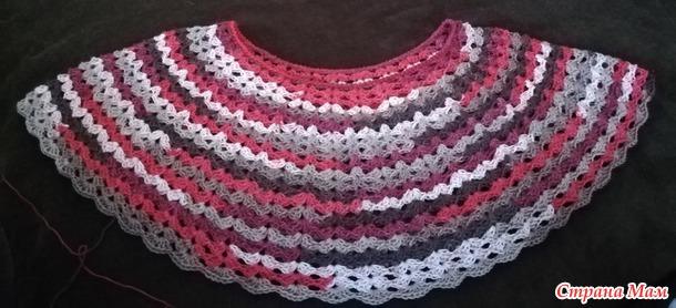 Блузка из Ализе Дива Миссисипи крючком, вязание онлайн или МК. Присоединяйтесь!