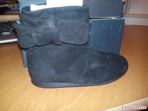 Продам новые ботиночки демисезонные ZaraKids. Россия