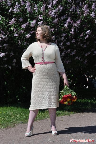 Платье маленький хвастик