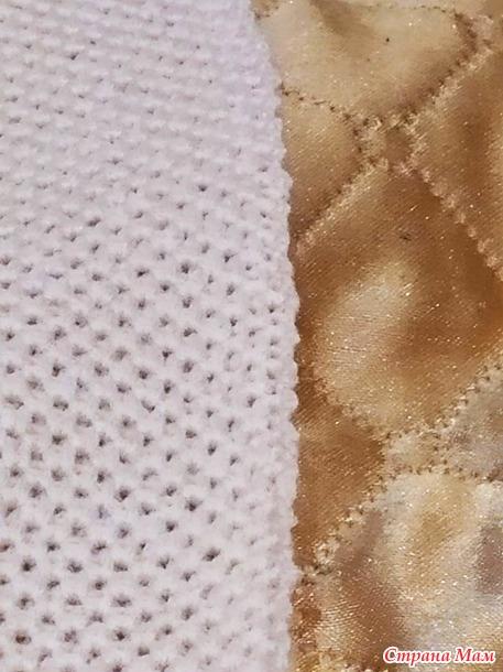 Как перейти с резинки на вязание по перфокарте?