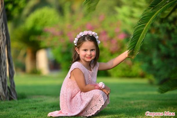 Детское платье от Giovana Dias