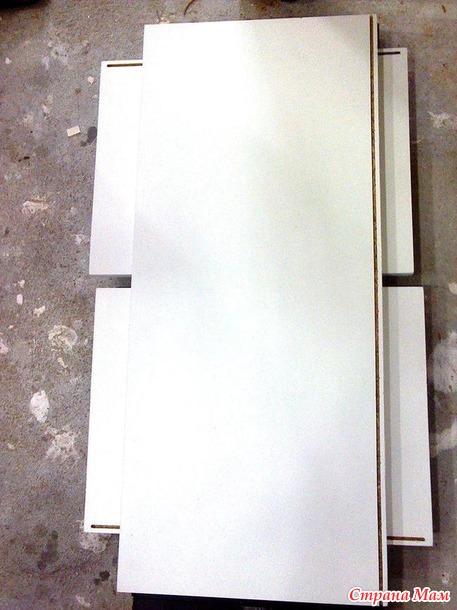 Мебель из ЛДСП своими руками, часть рисовАльная