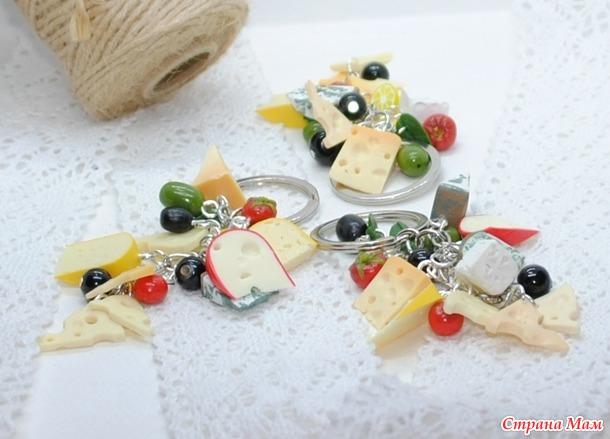 Апгрейд сырных украшений. Очень много фото