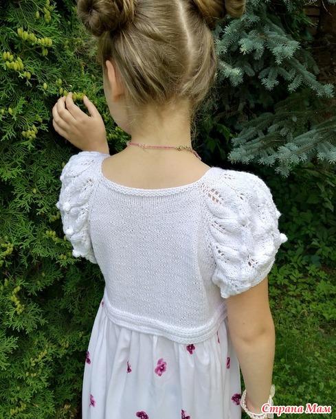 Платье : купонный штапель + вязаная кокетка