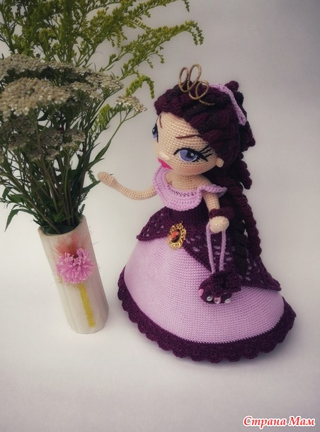 Кукла для девочки Вари.