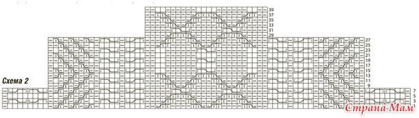 Свитер с комбинацией рельефных узоров.