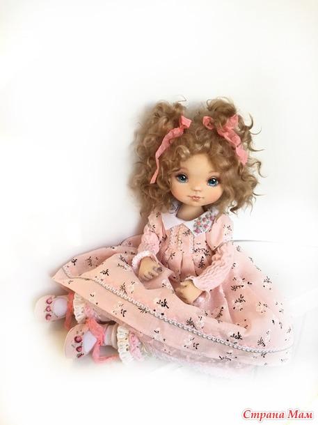 Интерьерная коллекционная кукла