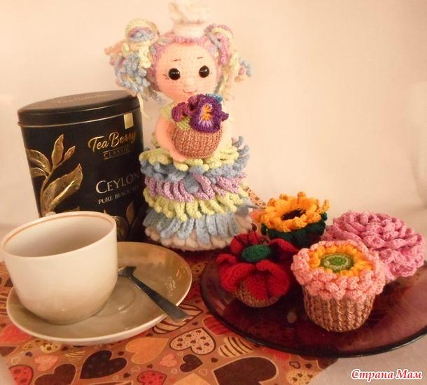 Маффины к чаю подойдут?.. С Днём Рождения!