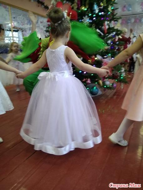 Продам новогоднии платья для девочек. Россия.