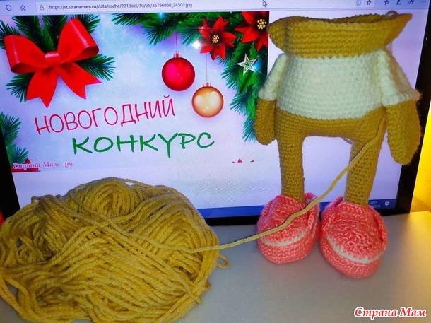 Сова Снежка спешит на Новогодний конкурс красоты в команду жюри.