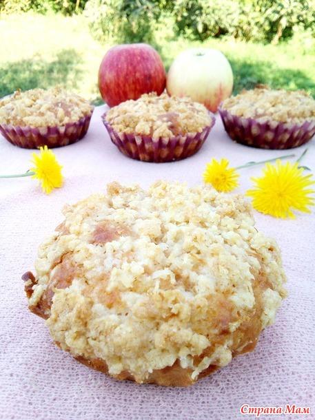 Яблочно-кокосовые кексы