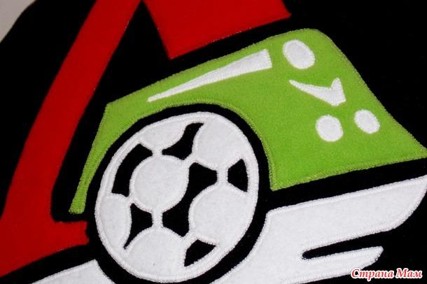 Подушка для болельщика футбольного клуба «Локомотив»