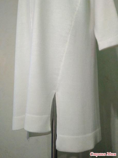 Платье-кокон оверсайз